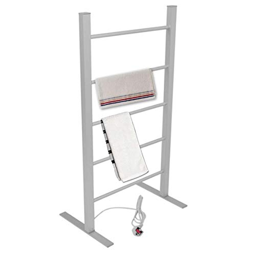 Secador Toallas electrico portatil, radiador Vertical 100W toalleros electricos bajo Consumo Acero Secador De Toallas A Temperatura Constante para El Baño
