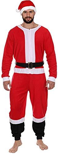 Holiday Grinch Santa Elf Reindeer Family Union Suit Costume Pajamas, Santa Or Reindeer, Size Womens 3X