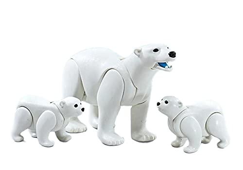 PLAYMOBIL Familia de Osos Polares en Bolsa