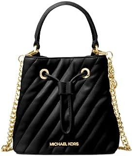 حقيبة ظهر نسائية من مايكل كورس، اسود، صغيرة