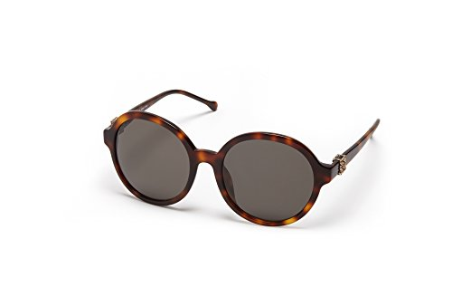 Loewe SLW949G5709AJ Gafas de sol, Shiny Brown Havana, 57