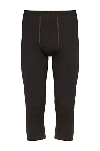 Mey mannen 42445-123 mannen Mey performance zwart kalf lengte legging