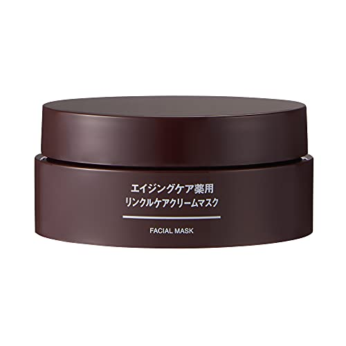 無印良品 医薬部外品 エイジングケア薬用リンクルケアクリームマスク 80g 44294413