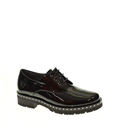 Zapato Plano - Mujer - Negro - pitillos - 5335-36