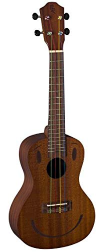 BATON ROUGE V1-C N-SMILE-BWS concert ukelele, kleine Hawaii gitaar, beginners ukelele, Aquila-snaren