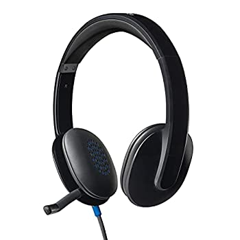 Logitech High-performance USB Headset H540 for Windows and Mac Skype Certified