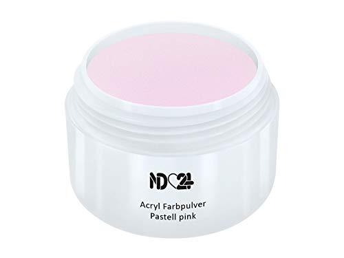 Acryl Farbpulver Pastell pink ROSA - nd24 BESTSELLER - Feinstes FARB Acryl-Puder Acryl-Pulver Acryl-Powder - STUDIO QUALITÄT