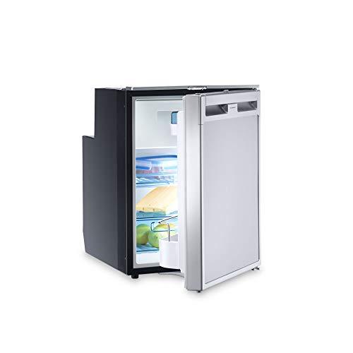 DOMETIC Coolmatic CRX 50 Kompressor-Kühlschrank, 45 l, in Edelstahl-Optik, 12/24 Volt für Wohnwagen, Wohnmobil, Caravan + Boot