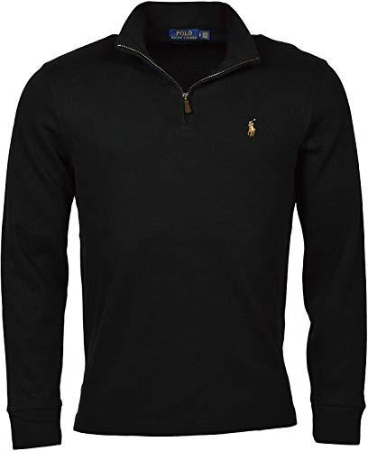 Polo Ralph Lauren Herren Polo-Pullover, gestrickt, gerippt - Schwarz - X-Small