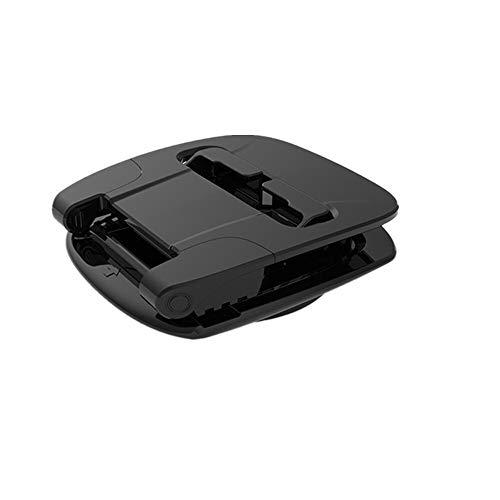 Mdjywl Soporte para teléfono de coche con rotación de 360 grados para salpicadero, antideslizante, soporte de goma para la mayoría de smartphones (color negro)