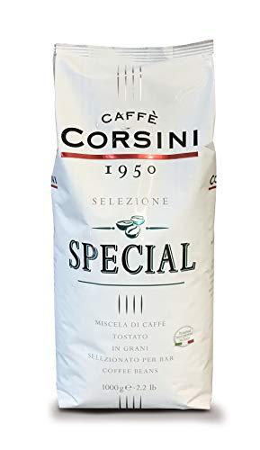 Caffè Corsini Premium Bar Special, Miscela di Caffè in Grani Arabica e Robusta, l'Espresso Cremoso del Bar - 1 kg