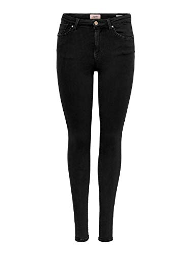 ONLY Female Skinny Fit Jeans ONLPower Mid Push Up L30Black