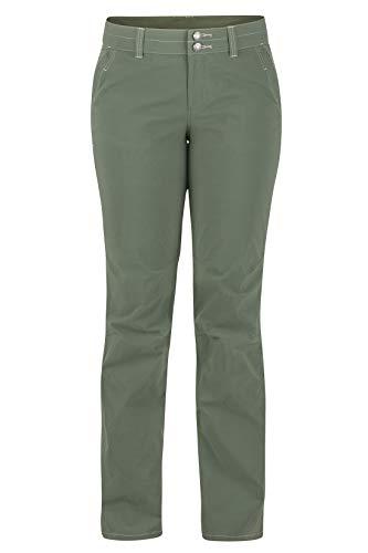 Marmot Wm's Kodachrome Pant Pantalones Trekking, Pantalones Outdoor, Transpirables y de Secado rápido, Mujer, Crocodile, XL