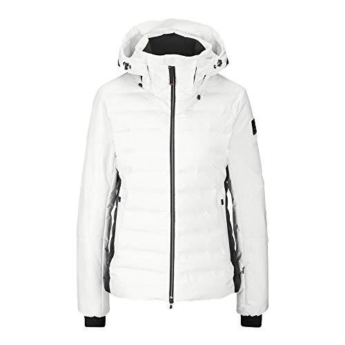 Bogner Fire + Ice Ladies Candra-D Weiß, Damen Daunen Jacke, Größe 42 - Farbe Offwhite