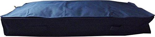 Neusu Starke Schlanke Unterbettkommode, 70 Liter Mittel Groß 105x45x15cm, Blau