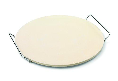 Point-Virgule PV-ITA-8300 Piedra para Pizza con Soporte de Metal 33 cm