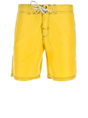 Blend Herren 702604 Badeshorts, Gelb (Yellow 72506 Super Lemon Yellow), Medium (Herstellergröße: M)