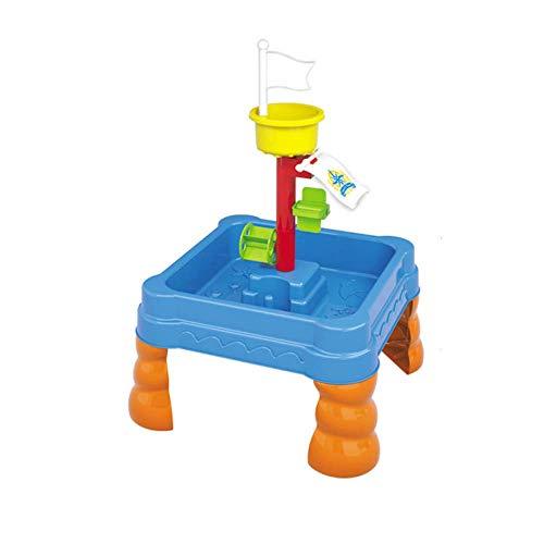 Sand spielt Spielzeug Strandwerkzeuge, Summe Seaside Spaß Wasserdose und Spaten Sand und Wassertisch Garten Sandkasten Set Kids mit Shifter Schaufeln Rechen Watering Can Castle Formen Urlaub Spaß liuc