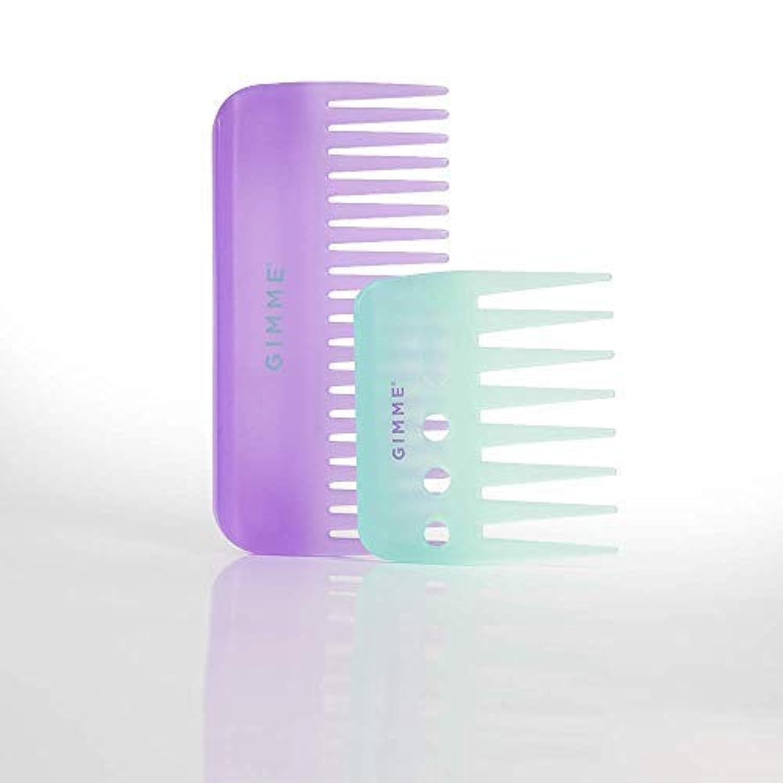 GIMME Shower Comb Bundle Pk 2pc [並行輸入品]