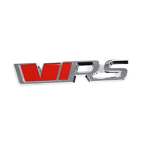 Skoda 565853679VYZ RS Schriftzug hinten Tuning Heckklappe VRS Emblem Logo