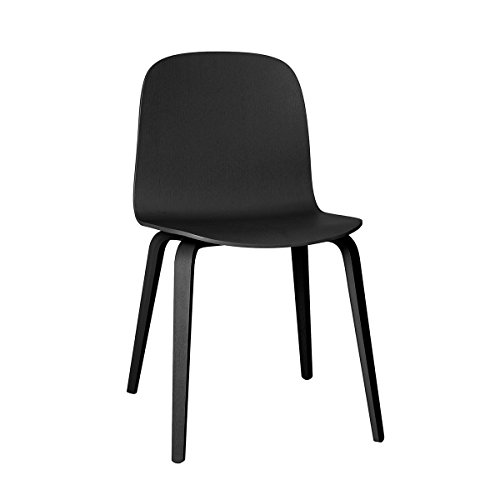 Muuto Visu Chair - Wood Base Black/Black
