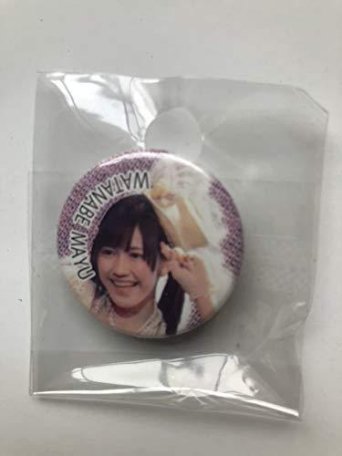 AKB48 渡辺麻友 缶バッジ まゆゆ