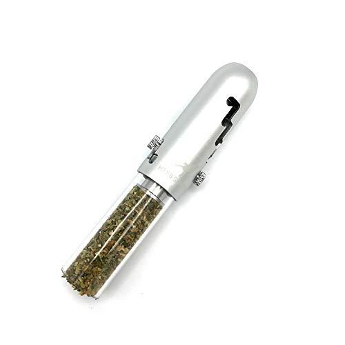 Herb Shuttles MJ420 Pipe - edle Tabakpfeife (Silber)