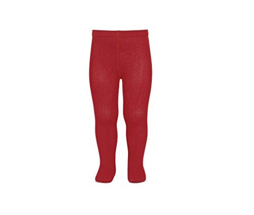 Condor Liso Medias, Rojo, 56 (Tamaño del fabricante:000) para Bebés
