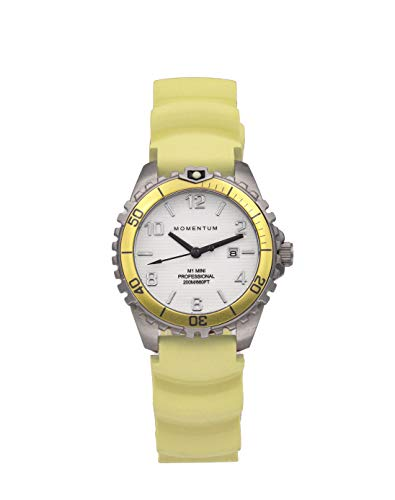 Momentum Damen-Armbanduhr XS M1 Mini Analog Quarz Kautschuk 1M-DV07WY1Y