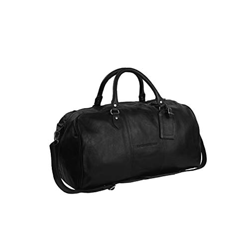 The Chesterfield Brand Leder Weekender Schwarz William
