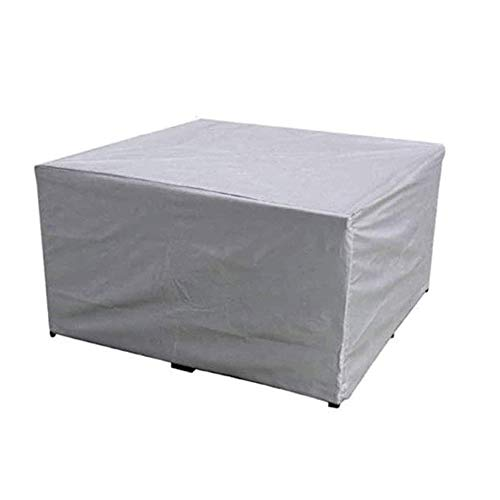 Zhenwo Garden Furniture Covers Patio Furniture Coat Polyester Rectangular Waterproof Anti-UV Garden Table Cover Outdoor Table Cover for Patio Chair Table Sofa Protective Cover,210 x 110 x 70 cm