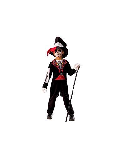 DISBACANAL Disfraz Catrín Esqueleto para niño - -, 5-7 años