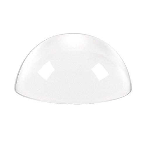 Juvale glas papiergewicht - glas cabochon, vergrootglas koepel, kristallen koepel, kristal vergrootglas - ideaal voor het lezen van kaarten en kranten, spirituele decoratie, 3,5 x 3,5 x 2 inch