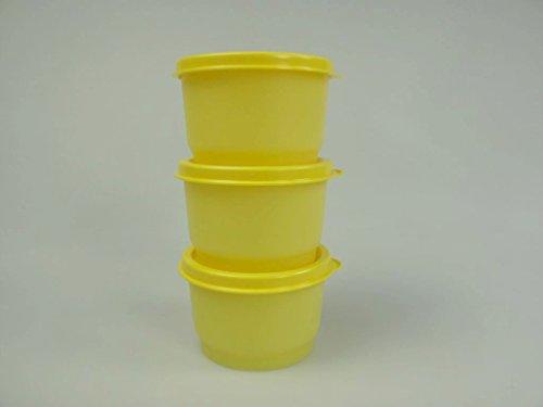 TUPPERWARE Kinder Kunterbunt 120 ml gelb (3) Julchen Küchen-Mini Parade