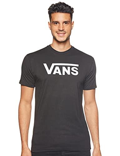 Vans - M VANS CLASSIC BLACK/WHITE - T-shirt - Homme - Multicolore (Black/White) - XX-Large