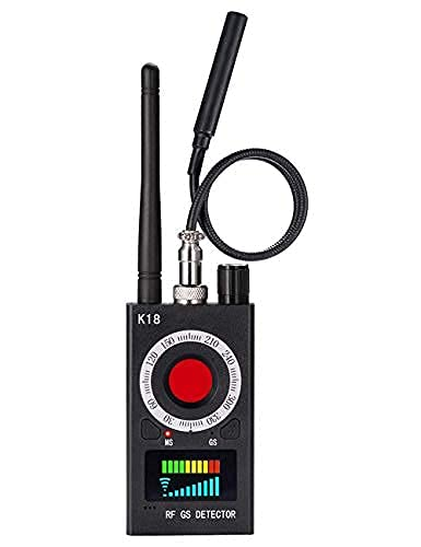JMDHKK Anti Spy Detector, Bug Detector ,Hidden Camera Detectors ,GPS Detector ,RF Signal Scanner Device Detector for GPS Tracker Listening Device Camera Finder