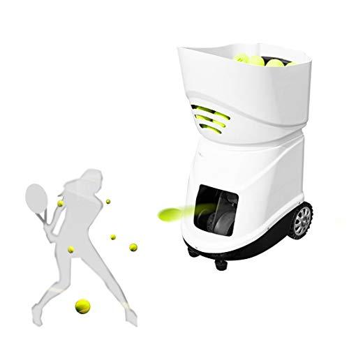 Tragbare Tennisballmaschine   20-140 km pro h einstellen   40 Pfund   Dauer 6-8 Stunden   150-Ball Kapazität   Mit Anti-Ball-Jam-Funktion