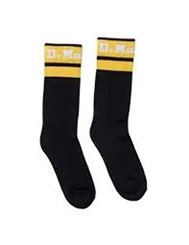 Dr. Martens DMCAC681001 - Calcetines para hombre, color negro, talla M/L