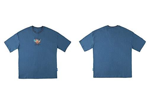 GVDFSEYL Borduurwerk Ramen Chinese Karakter Korte Mouwen Tshirts Harajuku Casual T Shirts Hip Hop Streetwear Tops Tees Mode