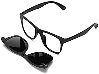 Unisex glasses made of the basic frame with five additional tires magnetized in various colors Polarisiz solar lenses insi...