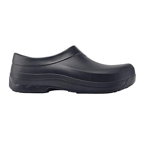 Shoes for Crews 69578-41/7 RADIUM Unisex Kitchen Clogs, Lightweight, 7 UK, BLACK - EN safety certified