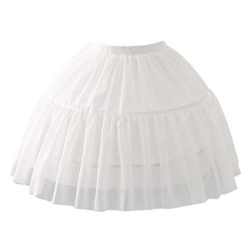 MYA 1Pc Ajustable Enagua para la Boda Vestido de Cosplay de Espina de Pescado de la Falda Corta Lolita Carmen Desplazamiento de la Funda nias Lindas Faldas de la Enagua Ajustable