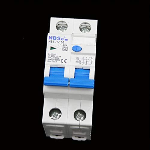 Doppel FI Schalter Schutzschalter 30 mA Wohnwagen Wohnmobil Caravan Boot 220V