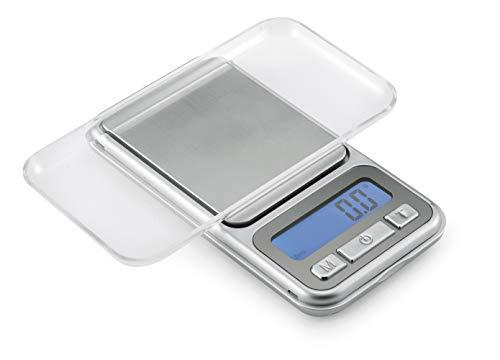 Polder Digital Pocket Scale Silver