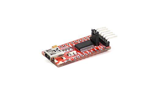 FTDI Adapter Original FT232RL Chip USB zu TTL Serial für 3,3 V und 5 V für Arduino PRO Mini TE203 | Christians Technikshop