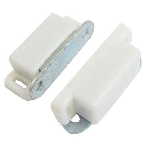 2 PCS 4,6 cm lange deur kast kunststof shell magneetsluiting set