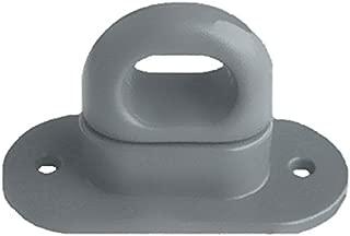 Cierre giratorio para oval ojales de metal, plástico, colour gris 42 x 22 mm --- Cantidad disponible