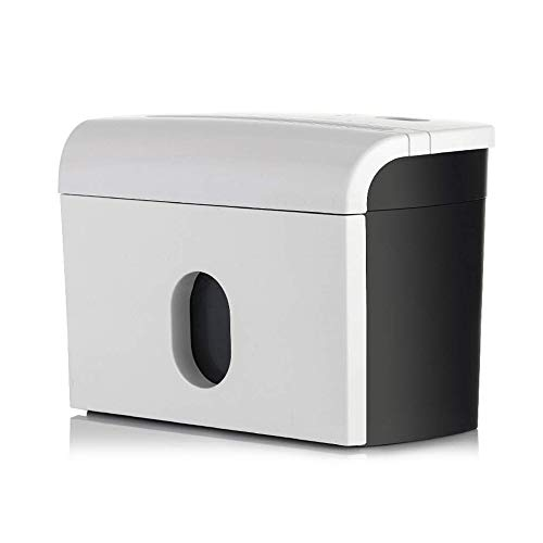 Check Out This Small Paper Shredder,3 A4 Sheets at A Time,Electric Shredder,3.5 Litre Bin,Portable S...