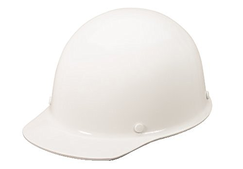 MSA Sombrero duro fenólico blanco del estilo del casquillo con la suspensión de 4 puntos Pinlock