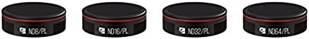 Freewell Bright Day - 4Pack ND8/PL, ND16/PL, ND32/PL, ND64/PL Camera Lens Filter Compatible With DJI Mavic Air